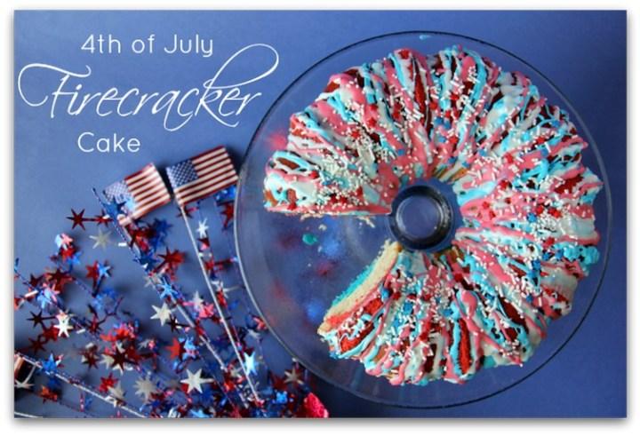 4th of July Firecracker Cake