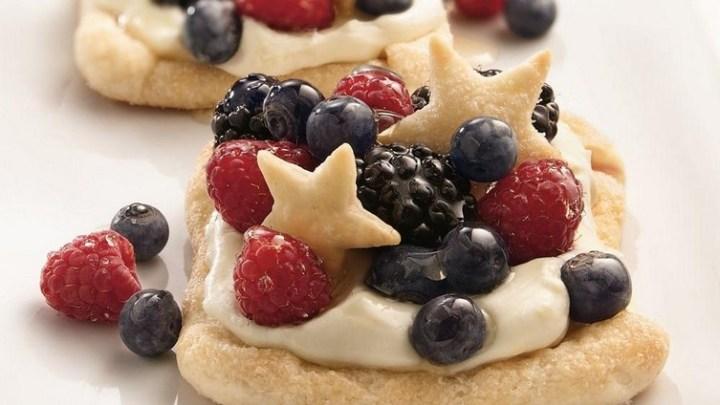 Berry-Lemon Cheesecake Squares