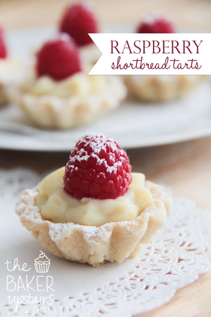 Raspberry Shortbread Tarts
