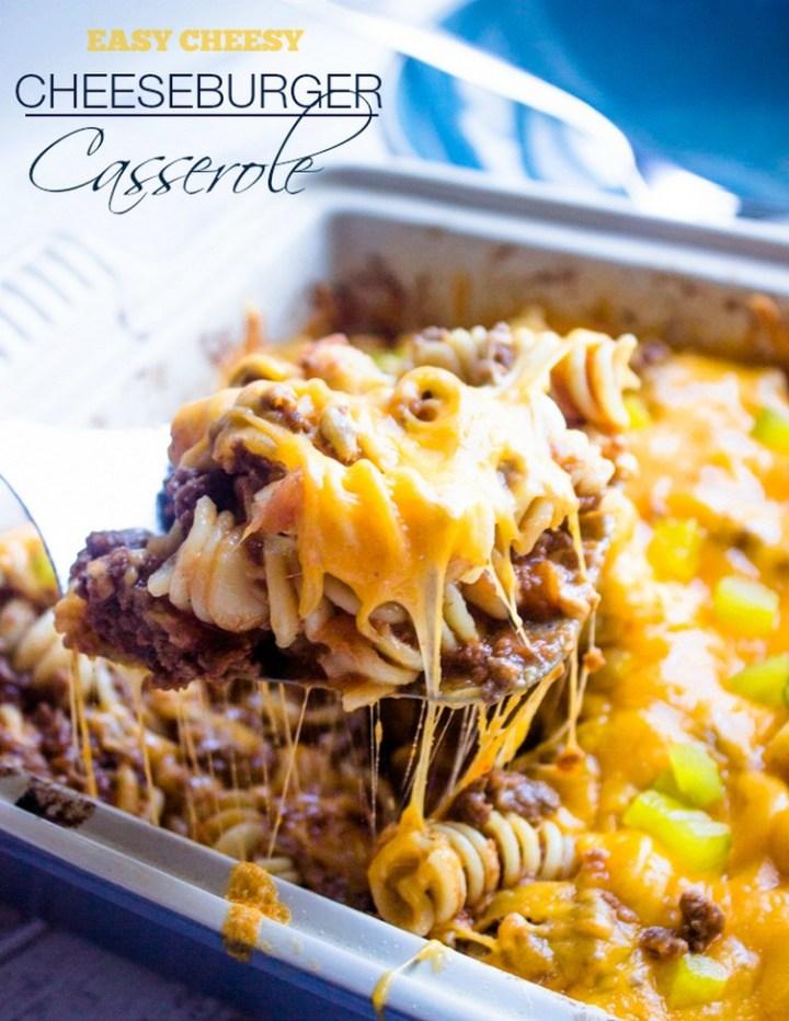 Easy Cheeseburger Casserole