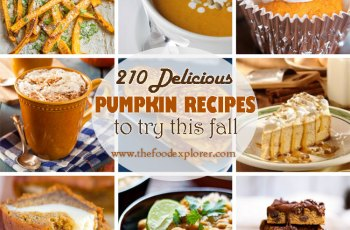 210 Delicious Pumpkin Recipes to Try This Fall