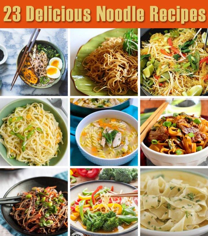 23 delicious noodle recipes