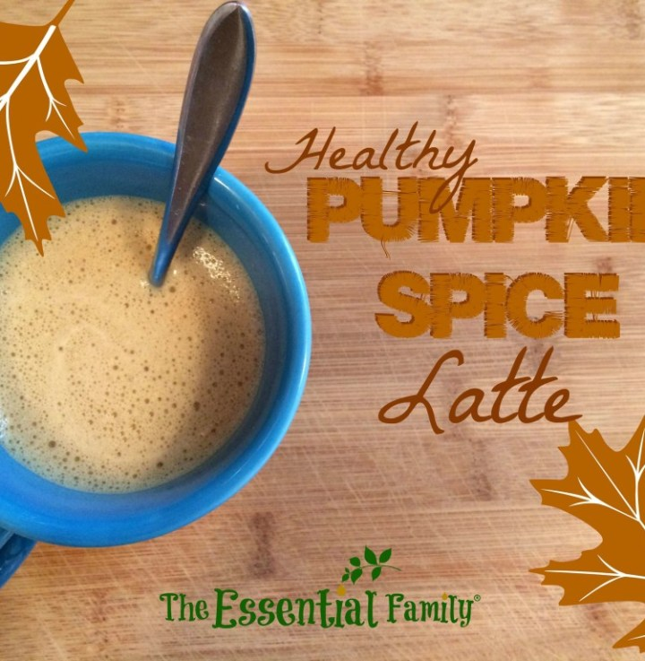 Healthy Pumpkin Spice Latte Recipe