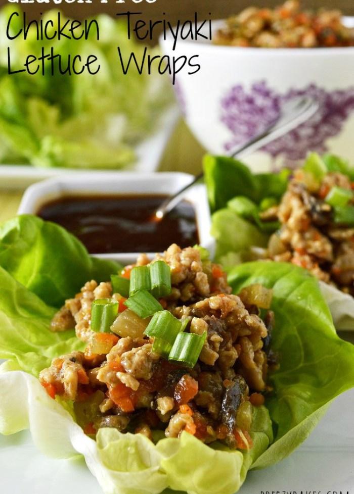 Gluten Free Chicken Lettuce Wraps