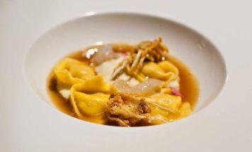 Stuffed Pasta Soup (Cappelletti Ripieni) - UMBRIA