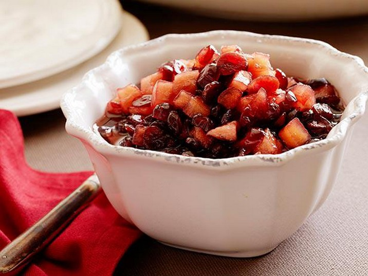 Cinnamon Apple Cranberry Sauce Recipe