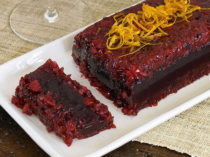Cranberry Pomegranate Terrine Recipe
