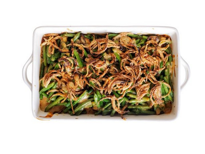 Green Bean-Mushroom Casserole Recipe