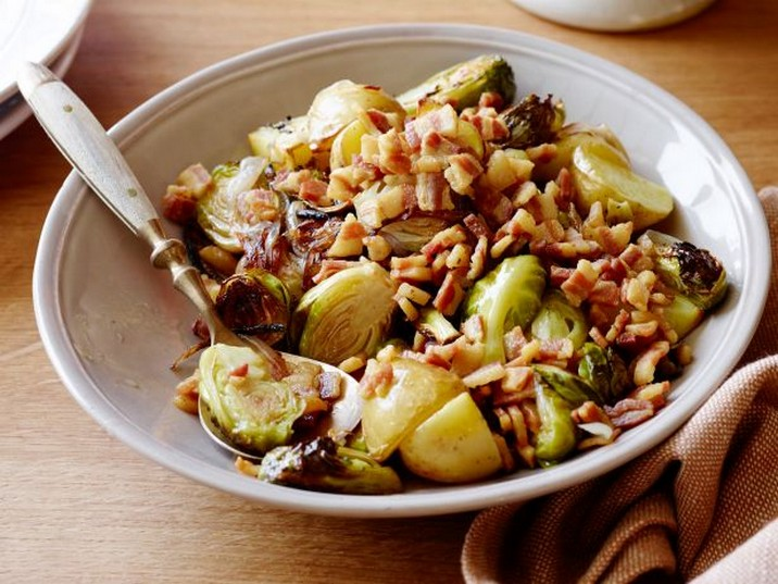 Roasted Brussels Sprouts with Pancetta Recipe