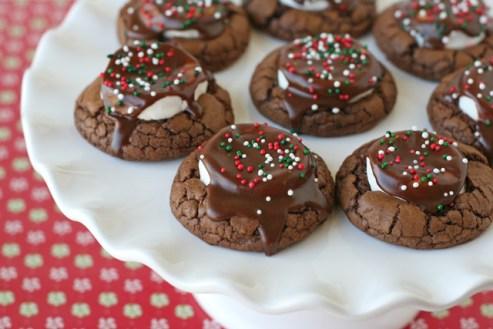 Hot Cocoa Cookies recipe