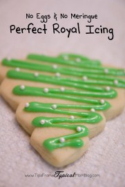 Royal Icing without Egg Whites or Meringue Powder recipe