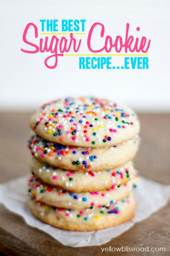The Best Sugar Cookie recipe