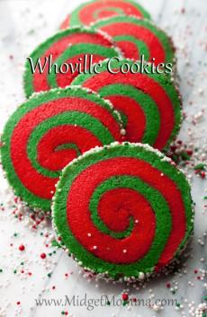 Whoville Cookies (Christmas Sugar Cookie) recipe