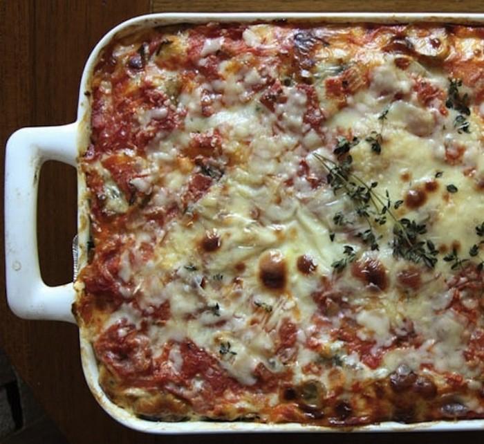 Tomato & Spinach Strata