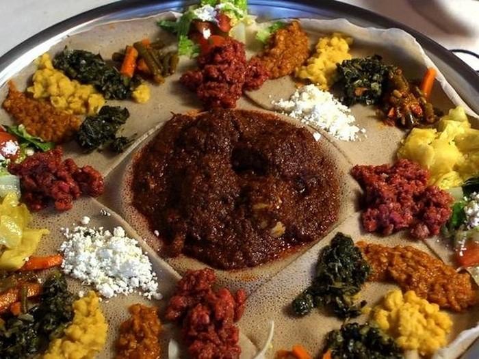 Ethiopia - Doro Wat on Injera Recipe