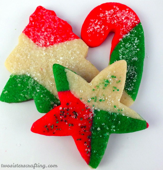 Marble Sugar Cookies Recipe