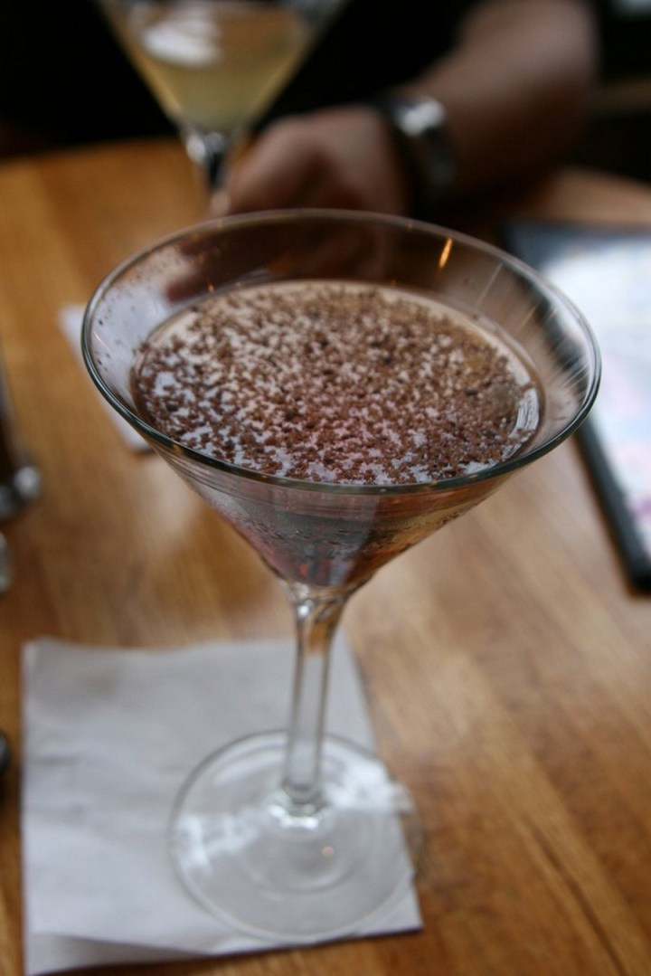 Nonalcoholic Chocolate Martini recipe