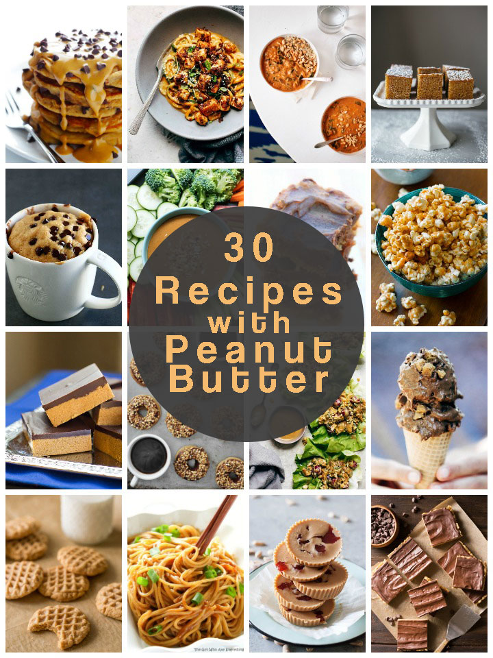 30 Peanut Butter Recipes for National Peanut Butter Day (January 24)