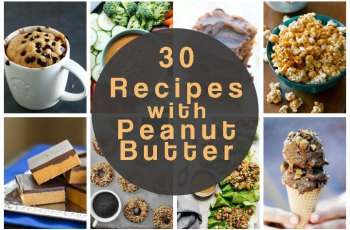 30 recipes with peanut butter for Peanut Butter Day (January 24) - The Food Explorer