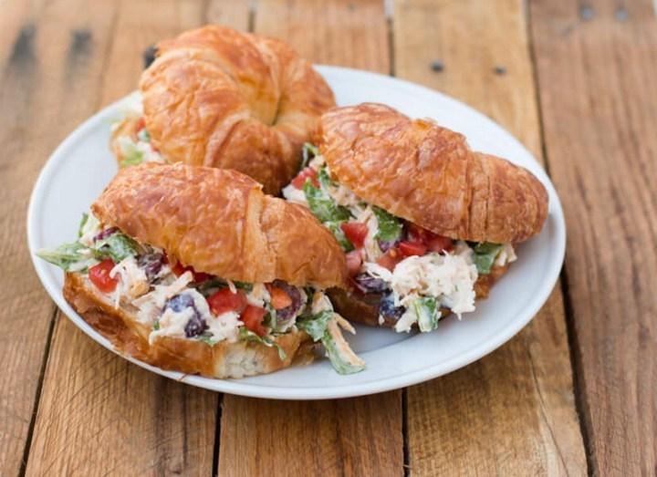 Chicken Salad Croissant Sandwich Recipe