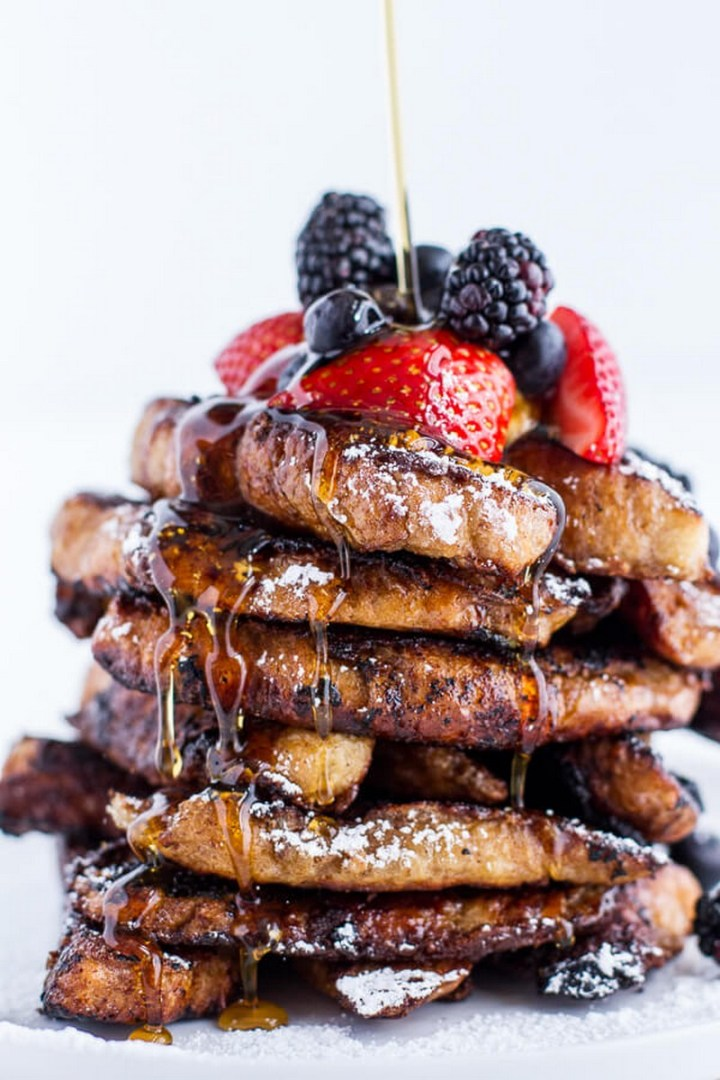 Coffee Caramelized Croissant French Toast Sticks Recipe