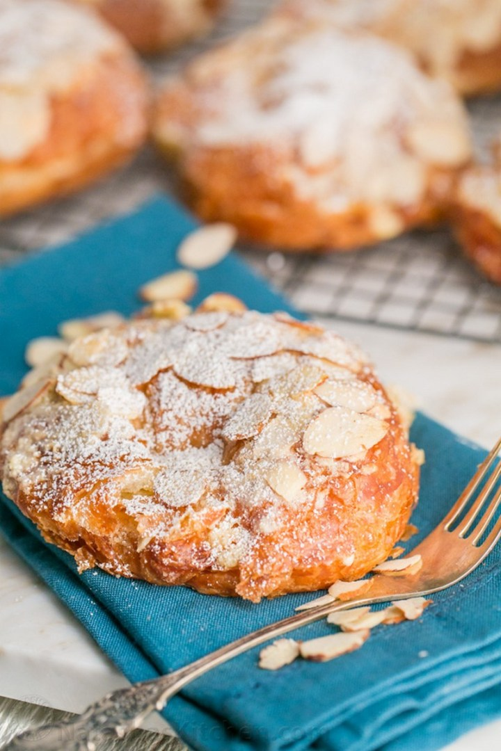 French Almond Croissants Recipe