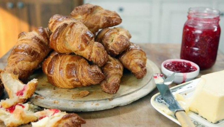 Homemade Buttery Croissants Recipe