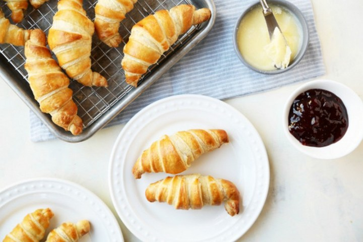 Traditional Buttery French Croissants Recipe