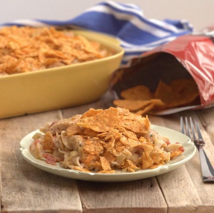 Doritos Cheesy Tex Mex Chicken Casserole Recipe