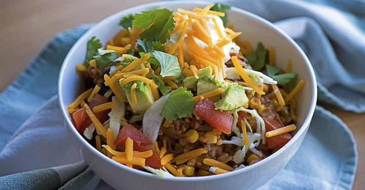 Zesty Mexican Rice Skillet Recipe