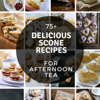75+ Delicious Scone Recipes for Afternoon Tea