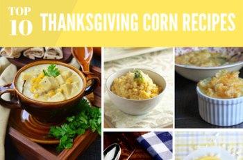Top 10 Thanksgiving Corn Recipes