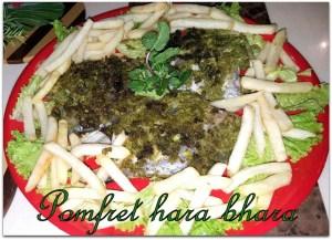 Pomfret hara Bhara