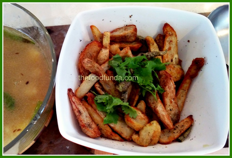 Sukhi arbi recipe for fast