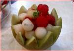 melon balls salad