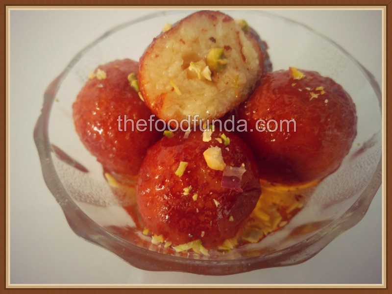 Easy milk powder gulab jamun recipe