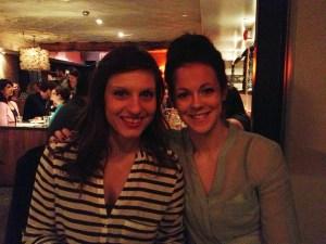 Krista and Kara!