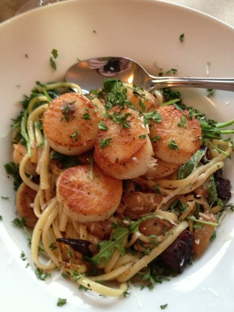 Scallops Linguini