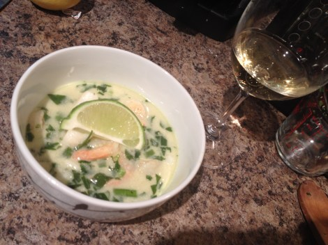 Thai Coconut Seafood Soup