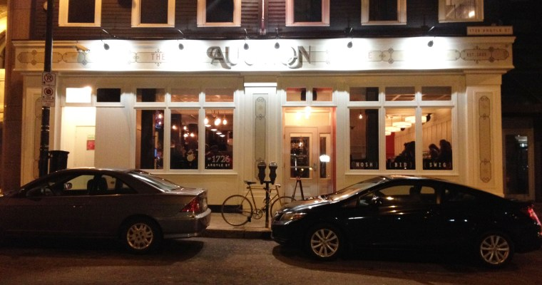 Drinks at The Auction House: Halifax