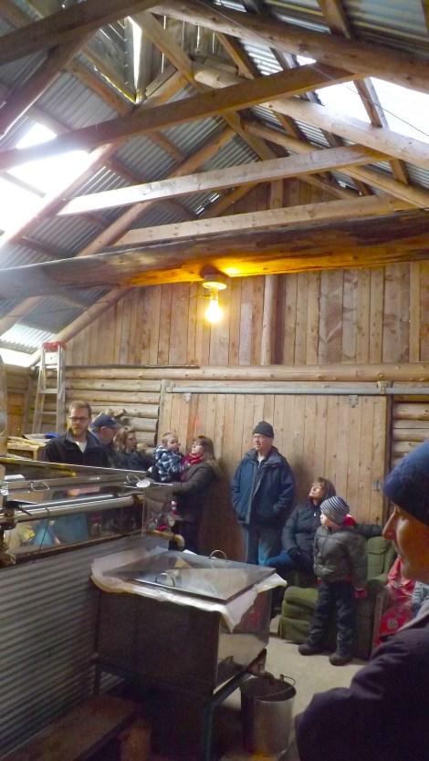 Inside the Sugar Camp