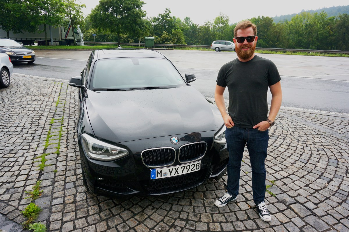 Adam with BMW