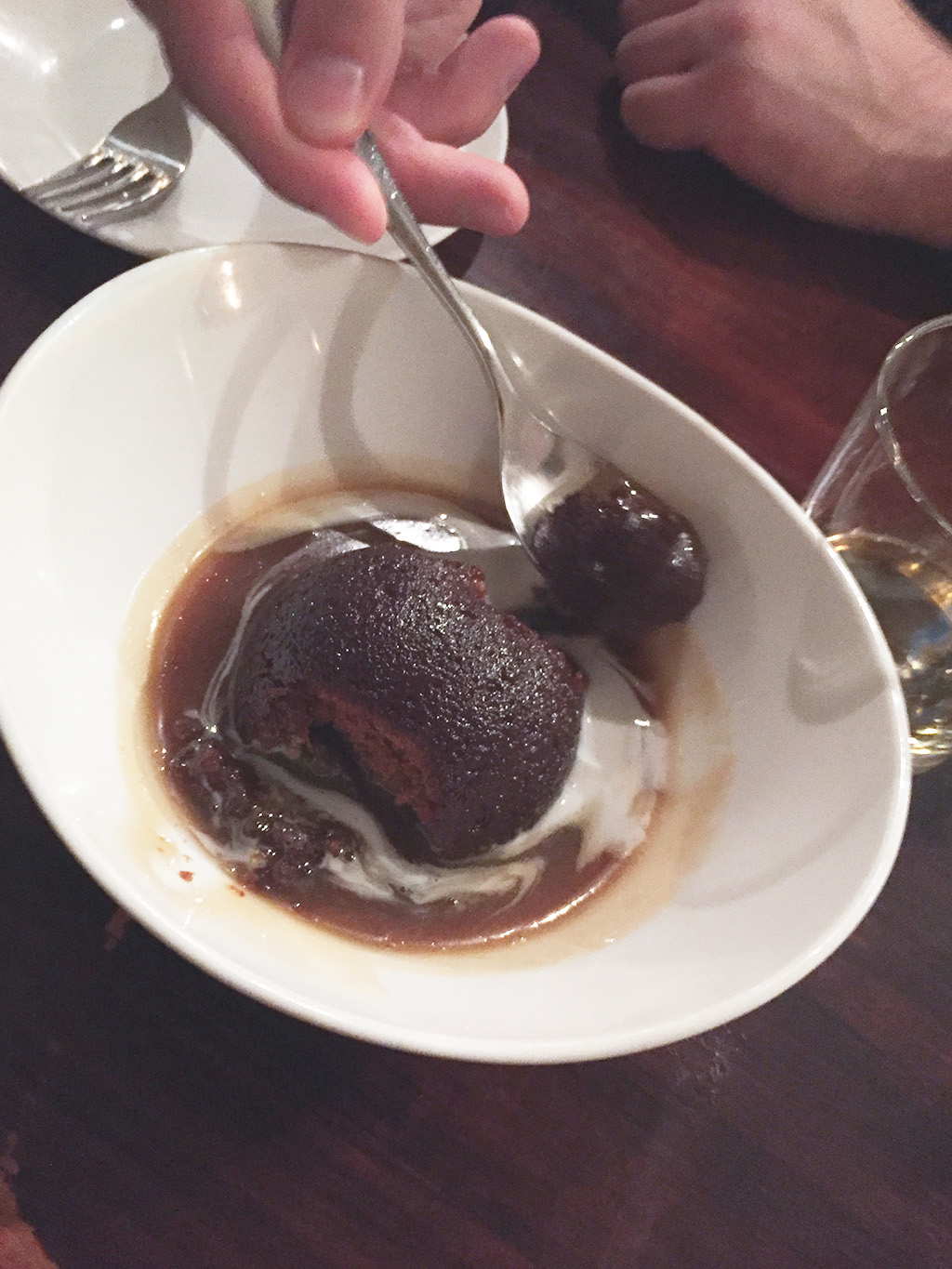 Sticky Toffee Pudding Beast Restaurant.The Food Girl in Town