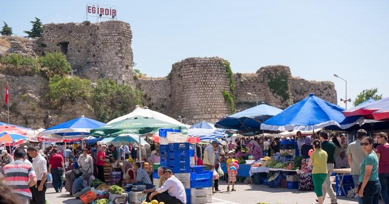Market day in Eğirdir   Turkey