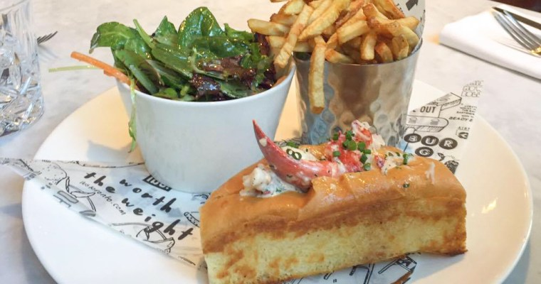 The sacrificial lobster roll: Lunch at Lbs. in Toronto
