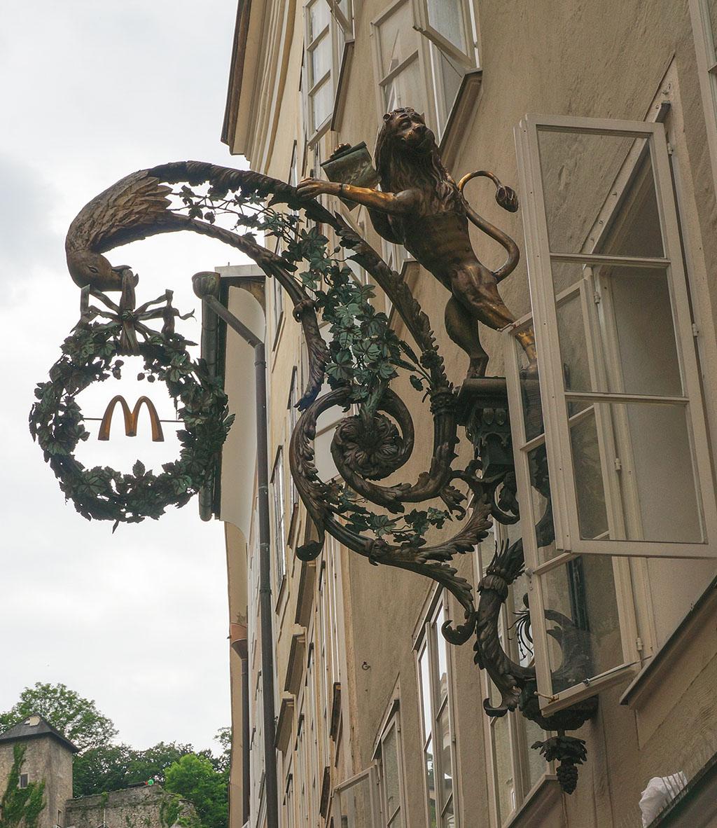 Salzburg McDonald's