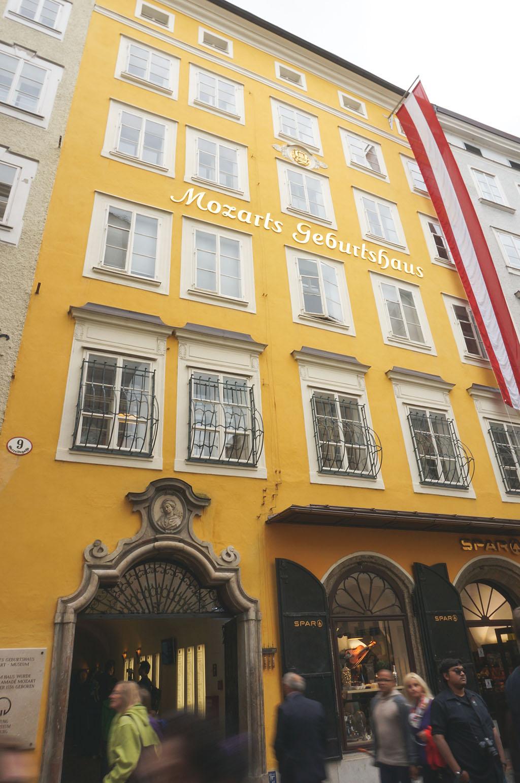 Mozart's House in Salzburg
