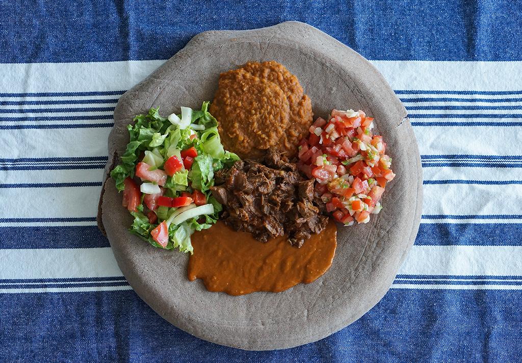 Ethiopian platter