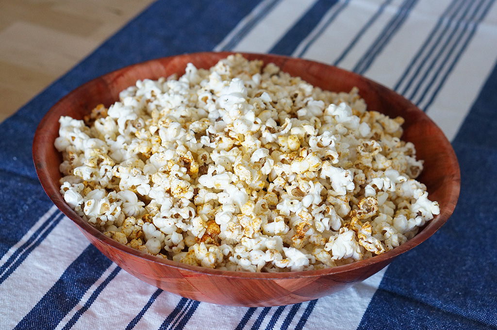 Bowl of Ethiopian popcorn