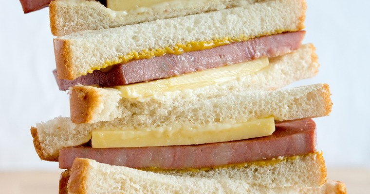 Fried Mortadella Sandwich Recipe